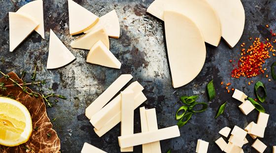 Grilling Cheese olika bitar