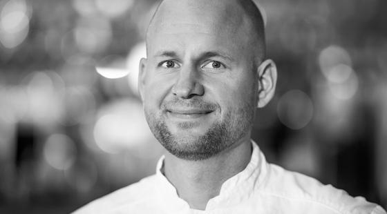 Porträtt av Johan Sjöqvist.