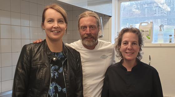 Skogsbackens förskola fick besök av Gustav Trägårdh