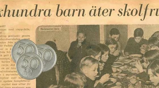 70 år av svenska skolmåltider