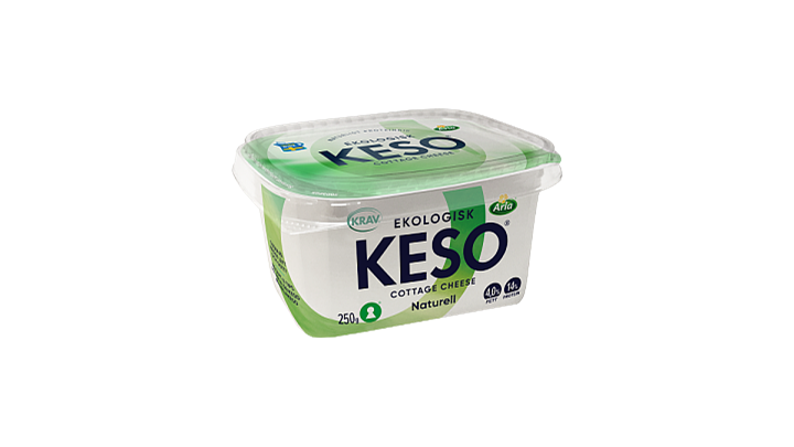 KESO® Eko cottage cheese 4%