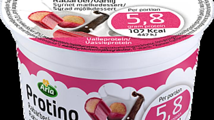Arla® Protino rabarber & vanilj portion