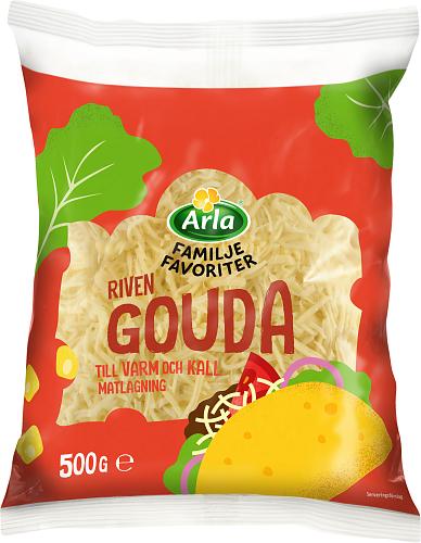Arla® Familjefav Gouda riven ost
