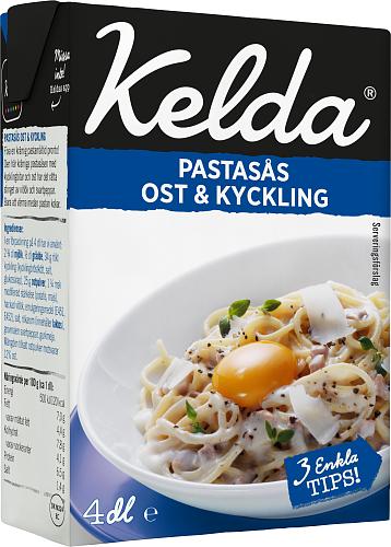 Kelda® Pastasås ost & kyckling