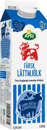 Arla Ko® Färsk lättmjölk 0,5%