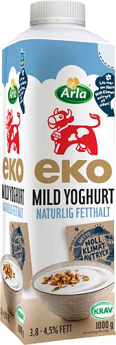 Arla Ko® Ekologisk Eko mild yoghurt naturell 3,8-4,5%