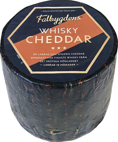 Falbygdens® Whisky cheddar 31% hårdost