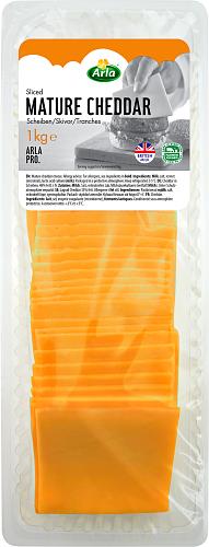 Arla® Pro Lagrad cheddar skivad ost 35%
