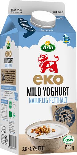 Arla Ko® Eko mild yoghurt naturell 3,8-4,5%