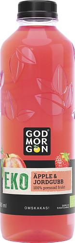 God Morgon® Organic Apple & Strawberry