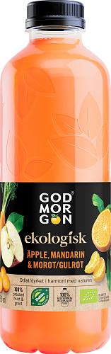 God Morgon® Eko Äpple, Mandarin & Morot