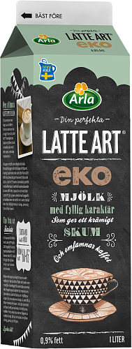 Arla® Latte Art® ekologisk mjölk 0,9%