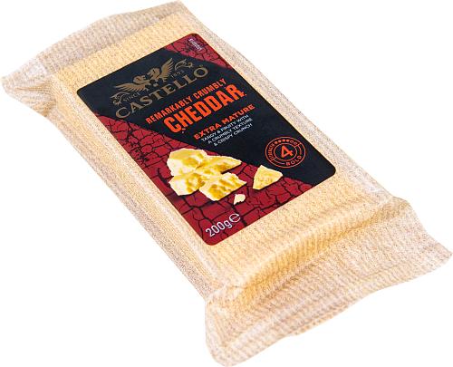 Castello® Extra mature cheddar lagrad hårdost