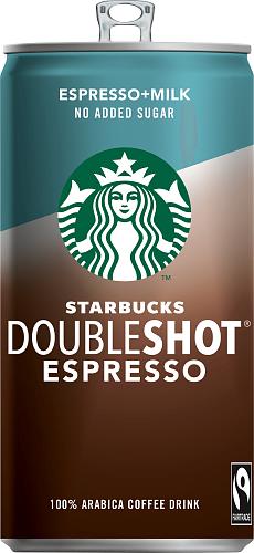 Starbucks® Doubleshot Espresso no added sugar