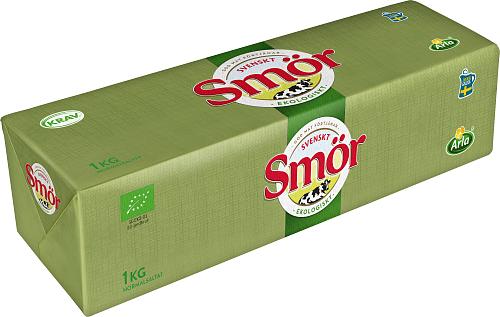 Svenskt Smör från Arla Eko normalsaltat 82% smör