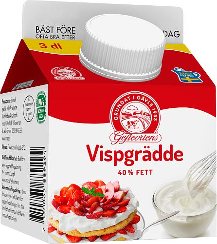 Gefleortens® Vispgrädde 40%