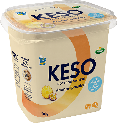 KESO® Cottage cheese ananas passion 2,9%