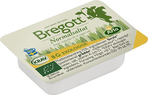 Bregott® Ekologisk Smör & Rapsolja portion