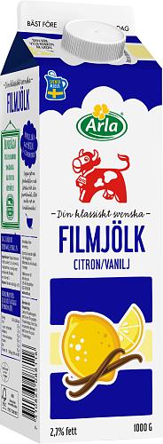 Arla Ko® Filmjölk citron & vanilj 2,7%