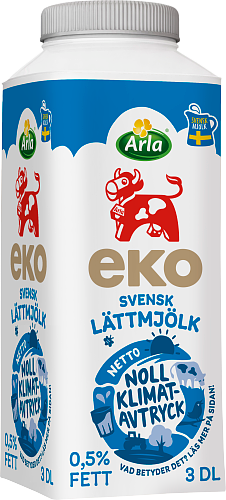 Arla Ko® Ekologisk Ekologisk lättmjölk 0,5% port