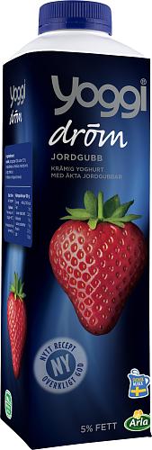 Yoggi® Dröm yoghurt jordgubb