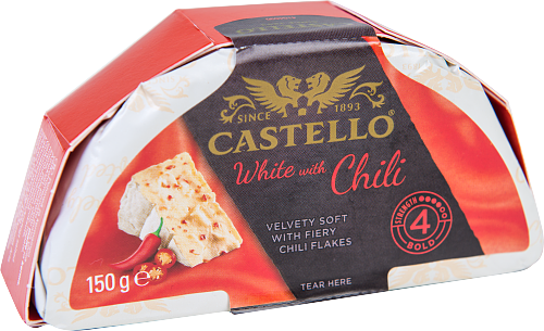 Castello® White chili vitmögelost