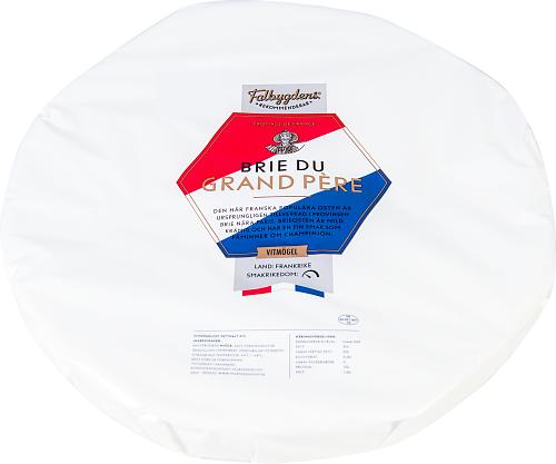 Falbygdens® Rekommenderar Brie du grand père 31% vitmögelost