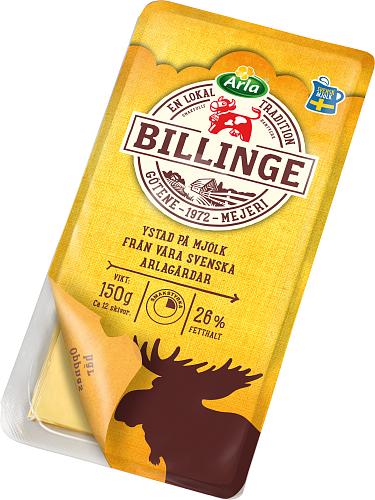 Arla Ko® Billinge 26% skivad ost
