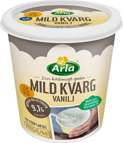 Yalla® Mild kvarg vanilj 0,2%