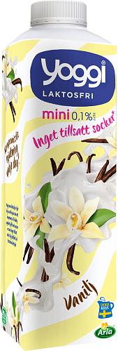 Yoggi® Mini laktosfri yoghurt vanilj