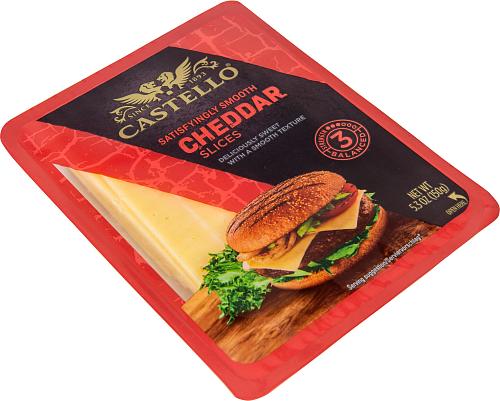 Castello® Burger Cheddar skivad hårdost