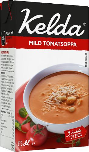 Kelda® Mild tomatsoppa