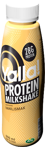 Yalla® Proteinshake vaniljsmak