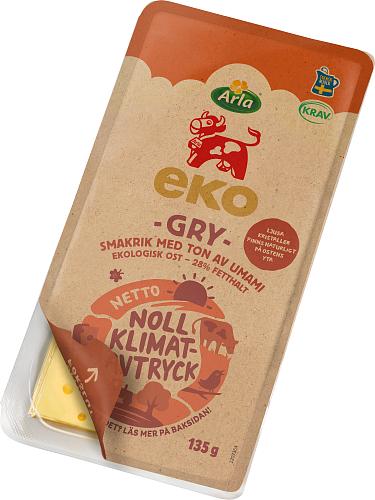 Arla Ko® Ekologisk Gry ekologisk skivad ost