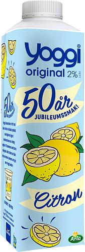 Yoggi® Original yoghurt citron
