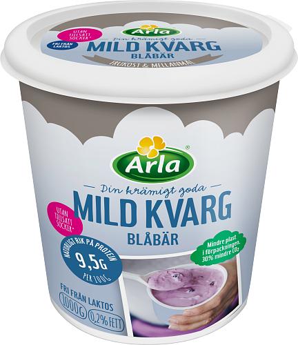 Yalla® Mild kvarg blåbär 0,2%