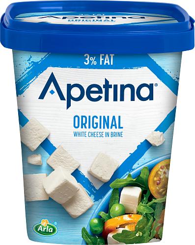 Apetina® Vitost tärnad i lake 3%