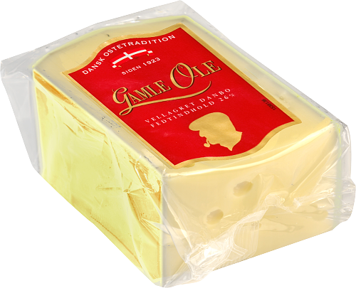 Dansk Ostetradition Gamle Ole lagrad Danbo ost