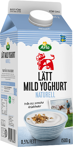 Arla Ko® Mild yoghurt lätt naturell 0,5%