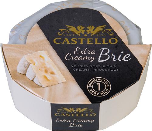 Castello® Extra creamy brie vitmögelost