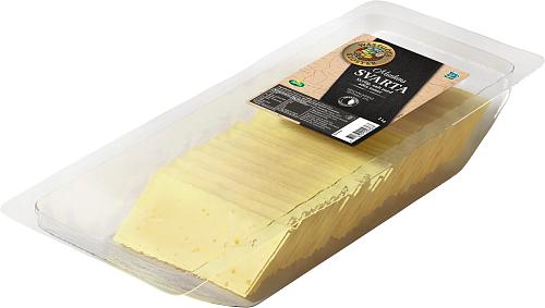 Wästgöta Kloster® Munkens Svarta skivad ost