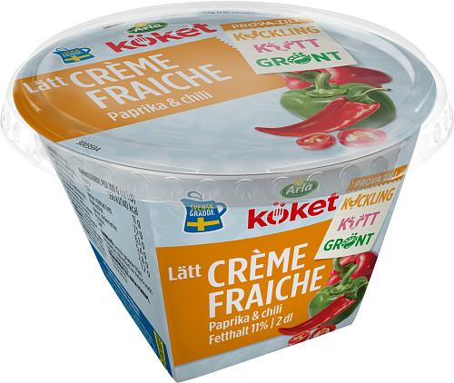 Arla Köket® Lätt crème fraiche papr chili 11%
