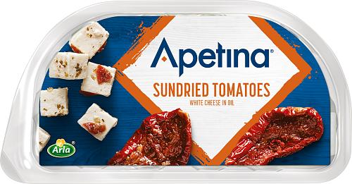 Apetina® Vitost tärnad i olja solt tomat 21%