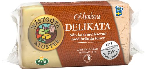 Wästgöta Kloster® Munkens Delikata ost