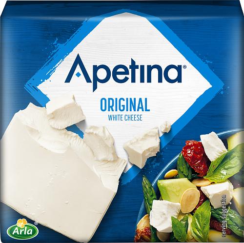 Apetina® Vitost krämig hel bit 17%
