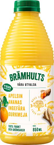 Brämhults Apelsin-Ananas-Ingefära-Gurkmeja