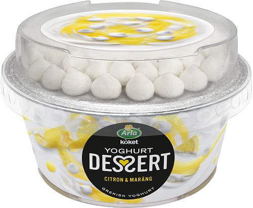 Arla Köket® Yoghurtdessert citron maräng