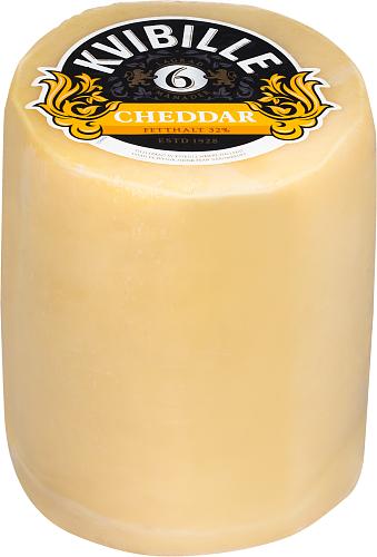Kvibille® Cheddar 6 mån 32% hårdost