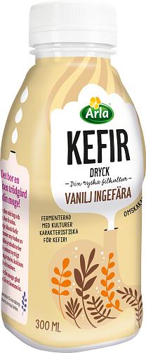 Arla® Kefir vanilj & ingefära dryck