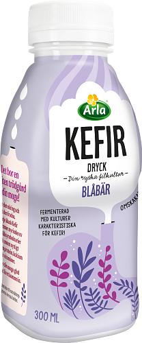 Arla® Kefir blåbär dryck